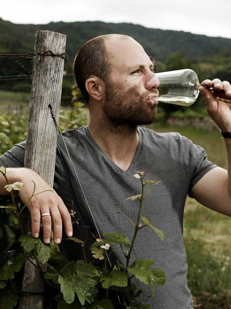 Wijnmaker Georg en Martin Fußer