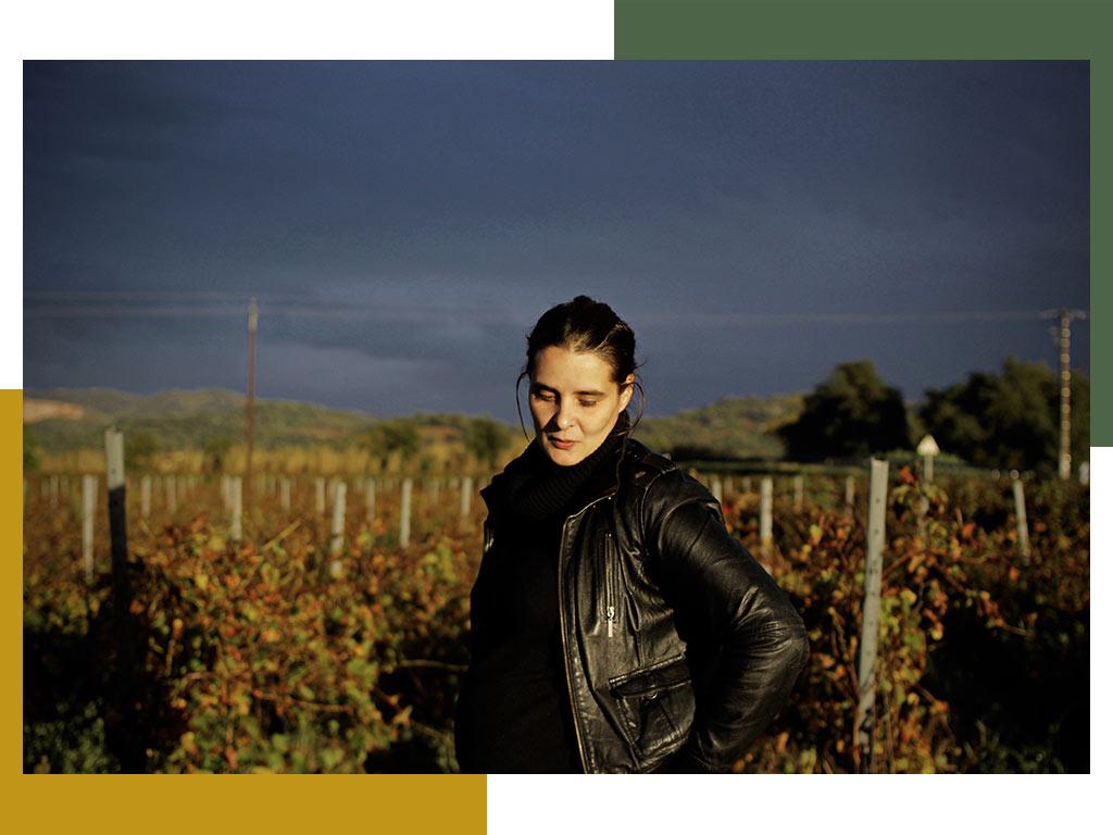 Wijnmaker Saskia van der Horst