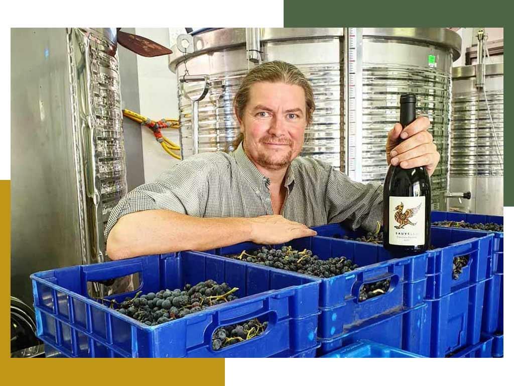 Jeroen Nagtegaal wijnmaker Sauvella Orcau Catalunya Spain