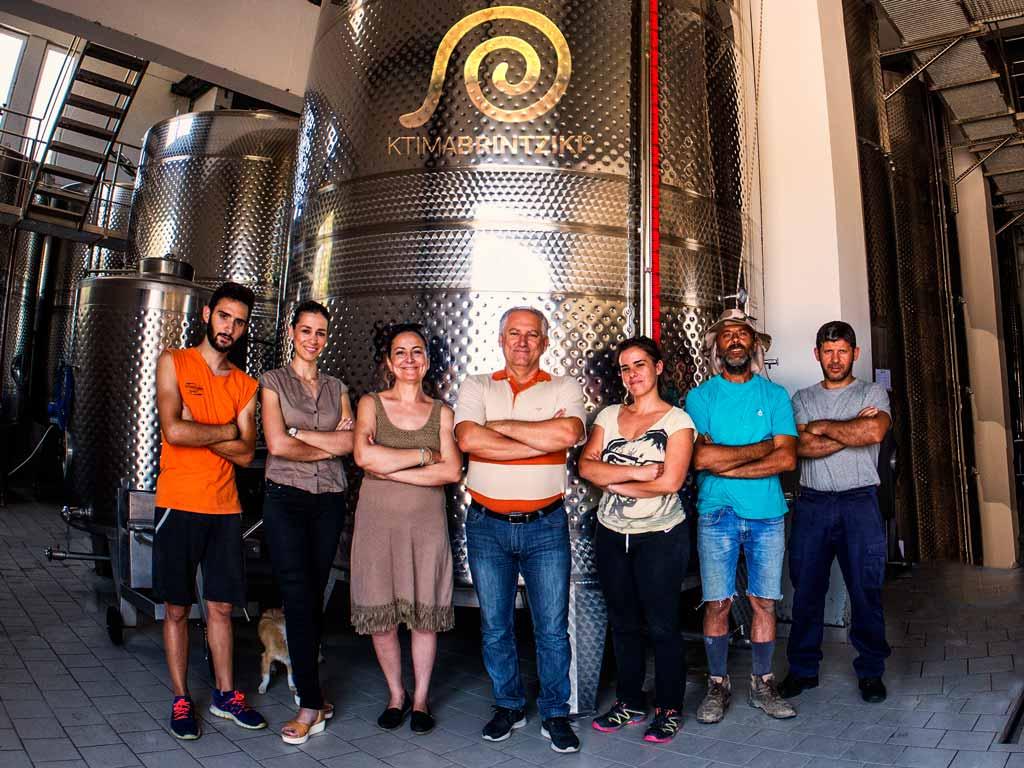 Familie Brintziki, biologische wijnen Peloponnesos